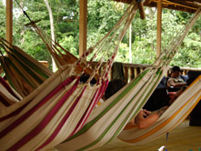 Amazon Dolphin Lodge - Hammock Area