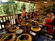 Amazon Dolphin Lodge - Restaurant