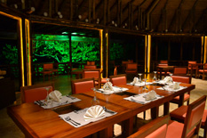 La Selva Lodge - Dinning room