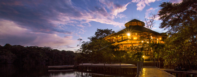 Luxury Lodges in the Amazon